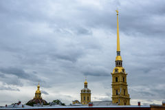 Peter-Pavel's fästning Arkivbilder