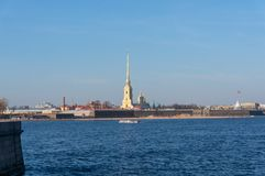 Peter-Pavel`s Fortress. Russia. St. Petersburg royalty free stock photos