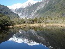 Peter Pools, Franz Josef Glacier, Nieuw Zeeland Stock Foto