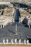 peter rome fyrkantig st Royaltyfri Bild