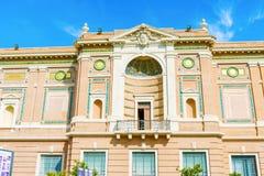 peter rome s för springbrunn för stad för bakgrundsbasilicabernini fyrkantig st vatican Royaltyfri Foto