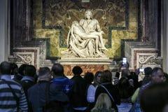 peter rome s för springbrunn för stad för bakgrundsbasilicabernini fyrkantig st vatican Royaltyfri Bild