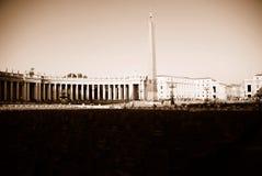 peter Rzymu jest placu św. Obraz Royalty Free