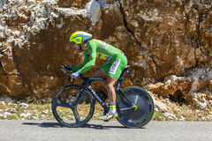 Peter Sagan, Individual Time Trial - Tour de France 2016 Royalty Free Stock Photos