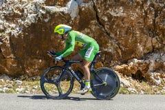Peter Sagan, Indywidualna czas próba - tour de france 2016 Zdjęcia Royalty Free