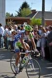 Peter Sagan - Paris Roubaix 2011. Fallen Liquigas cyclist Peter Sagan in Paris Roubaix 2011 Stock Photos