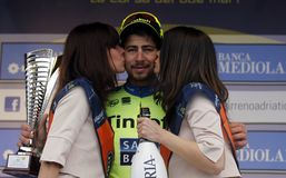 Peter Sagan Team Tinkoff - Saxo Stock Image