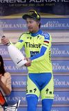 Peter Sagan Team Tinkoff - Saxo Royalty Free Stock Photo