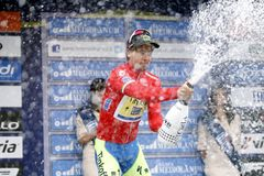 Peter Sagan Team Tinkoff - Saxo Royalty Free Stock Image