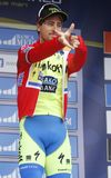 Peter Sagan Team Tinkoff - Saxo Royalty Free Stock Photography