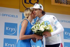 Peter Sagan Team Tinkoff - Saxo Tour de France 2015 Stock Photography