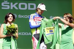 Peter Sagan Tour de France 2015 Arkivbilder