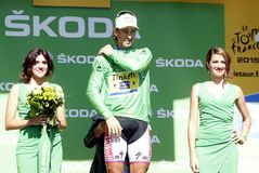 Peter Sagan 2015 Tour de France Stock Images