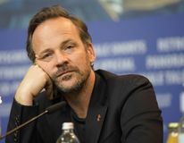 Peter Sarsgaard at the `Mr. Jones` press conference. During the 69th Berlinale International Film Festival Berlin at Grand Hyatt Hotel on February 10, 2019 in stock photo