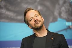 Peter Sarsgaard at the `Mr. Jones` press conference. During the 69th Berlinale International Film Festival Berlin at Grand Hyatt Hotel on February 10, 2019 in royalty free stock photography