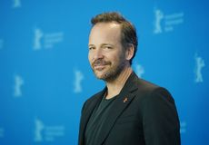 Peter Sarsgaard poses at the `Mr. Jones. ` photocall during the 69th Berlinale International Film Festival Berlin at Grand Hyatt Hotel on February 10, 2019 in royalty free stock image