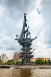 Peter 1st monument in Moscow Royalty Free Stock Photo