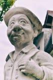 Peter Statue dans le jardin d'art de Mannheim image libre de droits