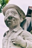Peter Statue im Mannheim-Kunstgarten lizenzfreies stockbild