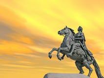 peter staty Royaltyfri Fotografi