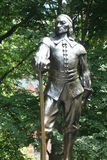 Peter Stuyvesant. A statue of Peter Stuyvesant at Stuyvesant Park, in Manhattan. Peter Stuyvesant was the last Dutch Director-General of the colony of New royalty free stock image
