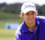 Peter Uihlein at The French golf Open 2013 Royalty Free Stock Images