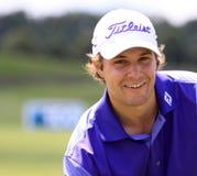 Peter Uihlein på den franska golfen öppnar 2013 Royaltyfria Bilder