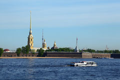 Peter-und Paul-Festung, St Petersburg Lizenzfreies Stockbild