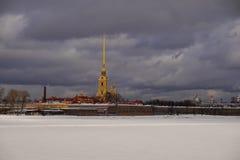 Peter-und Paul-Festung in St Petersburg Stockfotografie
