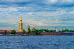 Peter-und Paul-Festung in St Petersburg Stockfoto