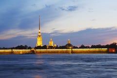 Peter-und Paul-Festung. St Petersburg, Russland Stockfotografie