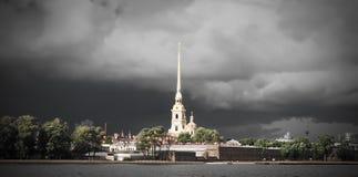 Peter-und Paul-Festung in St Petersburg, Russland Stockbilder