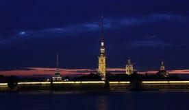 Peter-und Paul-Festung, St Petersburg, Russland lizenzfreie stockfotografie