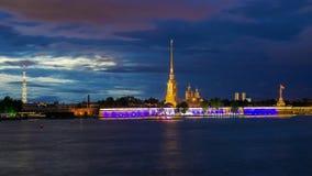Peter-und Paul-Festung in St Petersburg, Russland Lizenzfreie Stockfotos