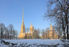 Peter-und Paul-Kathedrale Lizenzfreies Stockfoto