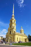 Peter-und Paul-Kathedrale, St Petersburg, Russland Stockbilder