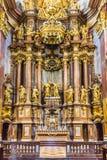 Peter und Paul-Kirche in der Melk Abtei Lizenzfreies Stockfoto