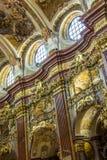 Peter und Paul-Kirche in der Melk Abtei Stockfotografie
