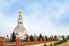 Peter-und Paul-Kirche Prokhorovka Russland Lizenzfreie Stockfotos