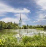 Peter-und Paul-Kirche yaroslavl Russland stockbild