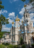 Peter- und Paul Russian Orthodox-Kirche in Karlovy Vary stockfoto