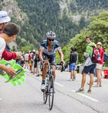Peter Velits Climbing Alpe D'Huez Royalty Free Stock Images