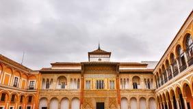 Peter von Alcazar Royal Palace SevillevAndalusia der Palast des Schlosses Lizenzfreies Stockbild