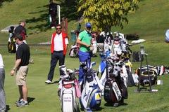Peter Witheford a golf aperto, Marbella di Andalusia Immagini Stock Libere da Diritti