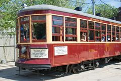 Peter Witt Vintage Streetcar Heritage of Toronto Royalty Free Stock Images