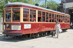 Peter Witt Vintage Streetcar Heritage of Toronto Stock Images