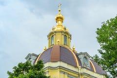 Peter y Paul Cathedral en St Petersburg Imagen de archivo