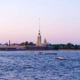 Peter y Paul Fortress y Neva River, St Petersburg imágenes de archivo libres de regalías