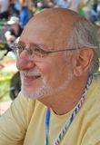 Peter Yarrow. Plays the mariposa festival from Peter Paul and Mary Stock Photo
