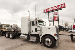 Peterbilt Model 389 Semitrailer Truck Stock Image